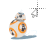 BB-8 II left select.ani Preview