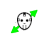 Jason Voorhees diagonal resize left.ani Preview