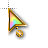 Rainbow Cursor Pastel.ani Preview