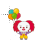 Pennywise gif normal select.ani Preview