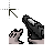 gun cursor.ani Preview