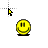 Bounce Smiley.ani Preview