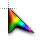 Rainbow cursor .ani Preview