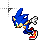 sonic_superfastrun.ani Preview