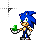 sonic_emerald.ani Preview