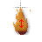 flame cursor(vertical) by KT6.ani Preview