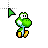 Baby yoshi just siting.ani Preview