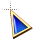 Right rainbow triangle stone.ani Preview