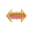 Rainbow Gold horiz resize.ani Preview