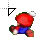 Mario_WorkingInBackground.ani Preview