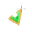 Left Emerald in Gold triangle 2 background.ani Preview