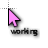 Pink Cursors - Working.ani Preview