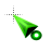 Green Grow Cursor.ani Preview