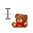 Teddy Bear Text.ani Preview
