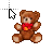 Teddy Bear Busy.ani Preview