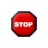 Pulsing Stop Sign.ani Preview