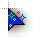 Blue Glitter cursor.ani Preview