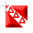 TKE Flag Mouse Cursor 3D Glow Red.ani Preview