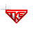 TKE Mouse Cursor White Fill Flashes Red T K E.ani Preview
