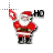 Christmas Santa Working in BG.ani Preview