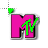 80s MTV Flashing Colorful Working in BG2.ani Preview