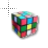 80s Rubix Cube Busy3.ani Preview