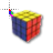 80s Rubix Cube Working in BG Preview