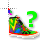 80s Colorful Hightop Sneaker Shoe Help Preview
