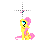 Fluttershy -Vertical Resize-.ani Preview