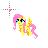 Fluttershy -Working in Background-.ani Preview