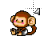 monkeyanilefthand.ani Preview
