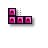 Tetris - Horizontal Resize (Pink).ani Preview