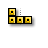 Tetris - Horizontal Resize (Yellow).ani Preview