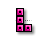 Tetris - Vertical Resize (Pink).ani Preview