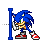 Sonic - Text Select.ani Preview