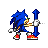 Sonic - Vertical Resize.ani Preview