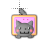 Nyan-Cat-horizontal.ani Preview