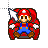 Mario - Waiting.ani Preview