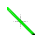 Green beveled cursors diagonal resize \.ani Preview