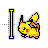 pikachu - text.ani Preview