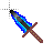 fire + ice sword.ani Preview