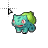 pokemon bulbasaur.ani Preview