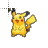 pikachu cursor .ani Preview