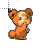 teddiursa cursor.ani Preview