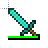 Diamond Sword with a damage bar ~ Working in the Background.ani Preview