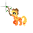 Applejack -Handwriting-.ani Preview