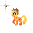 Applejack -Normal-.ani Preview