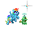 Rainbow Dash -Text Select-.ani Preview