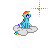 Rainbow Dash -Alternate Select-.ani Preview