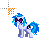 DJ Pon-3 -Working in Background-.ani Preview